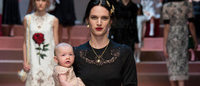 Неделя моды в Милане: Dolce & Gabbana осень-зима 2015/16