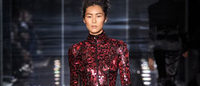 Glittering Tom Ford, soft Burberry at London Fashion Week