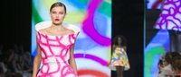 Agatha Ruiz de la Prada cierra la Semana de la Moda con una fiesta de color