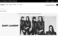 Saint Laurent betreibt deutschen Online-Store über Mybestbrands