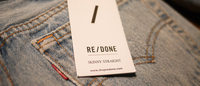リーバイスのヴィンテージを加工したLA発デニムブランド「RE/DONE」初上陸